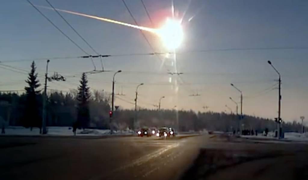 Explosión del meteoro en Chelyabinsk