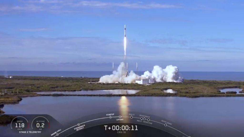 Mision CRS lanzamiento F9