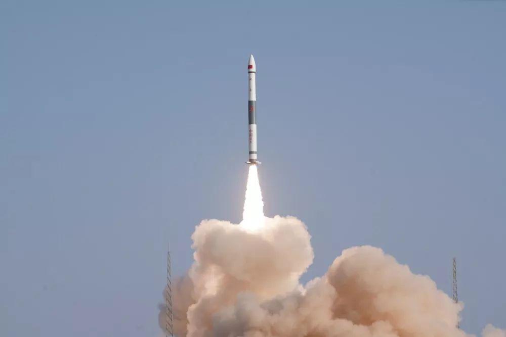 Foto lanzamiento Kuaizhou-1A