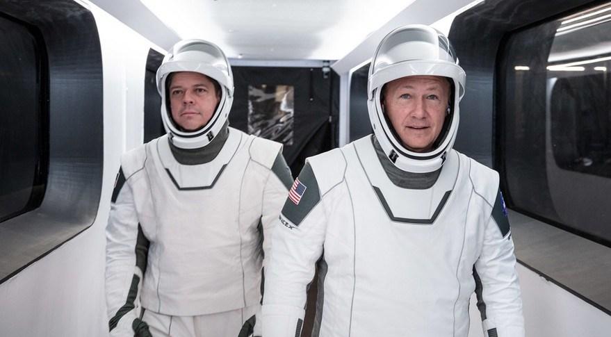 SpaceX enviará humanos al espacio. Bob Behnken y Doug Hurley