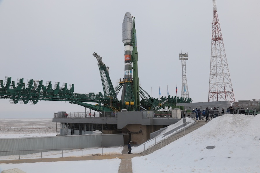 Cohete Soyuz con OneWeb