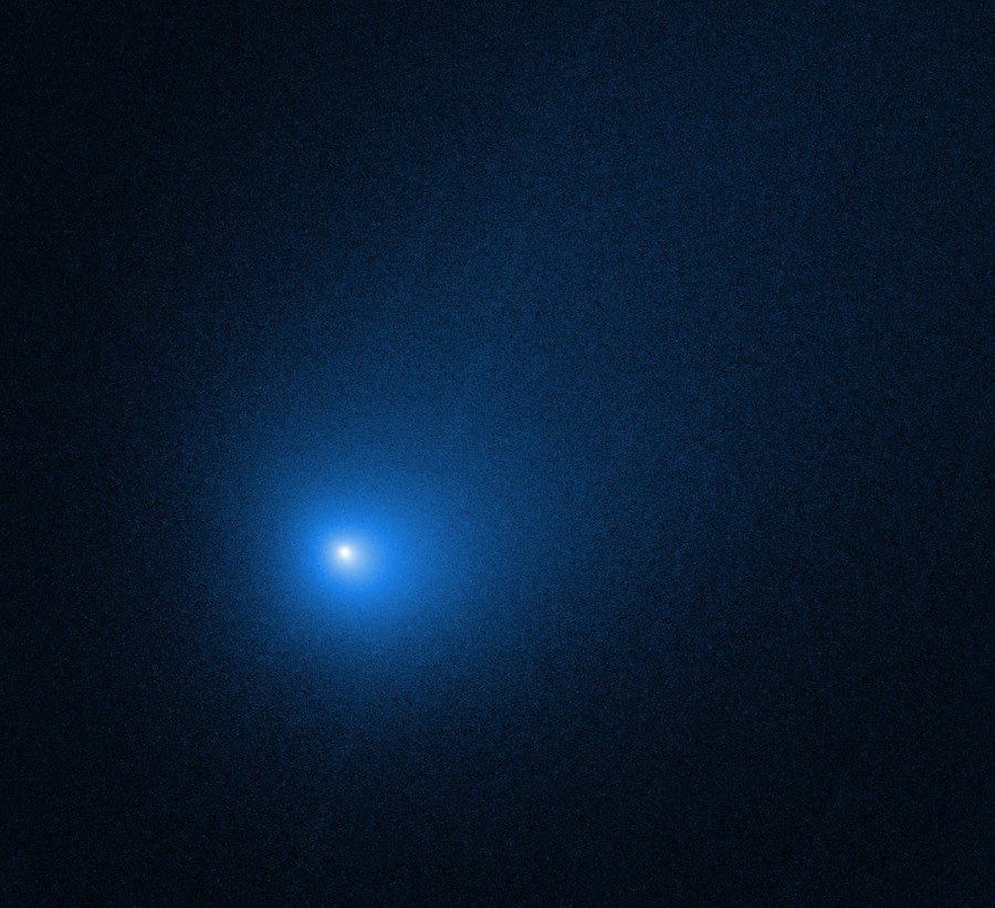 Imagen Borisov. NASA