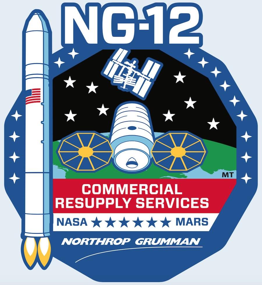 Logo Mision Antares NG-12