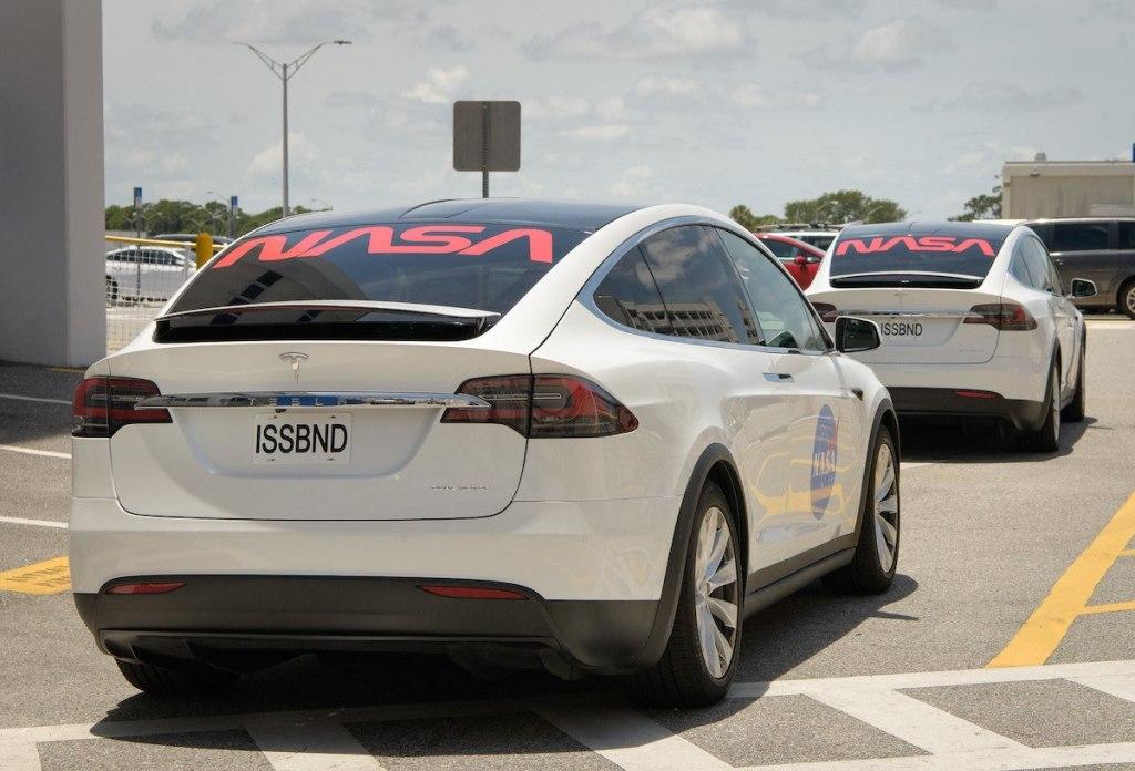 Tesla Model X NASA