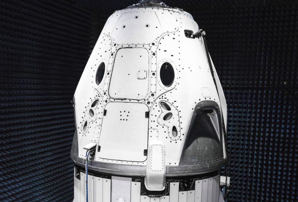 CrewDragon Lista para Astronautas