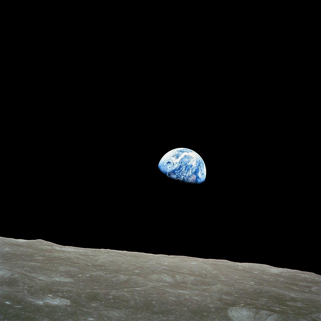Imagen desde la Luna tomada por Willian Anders