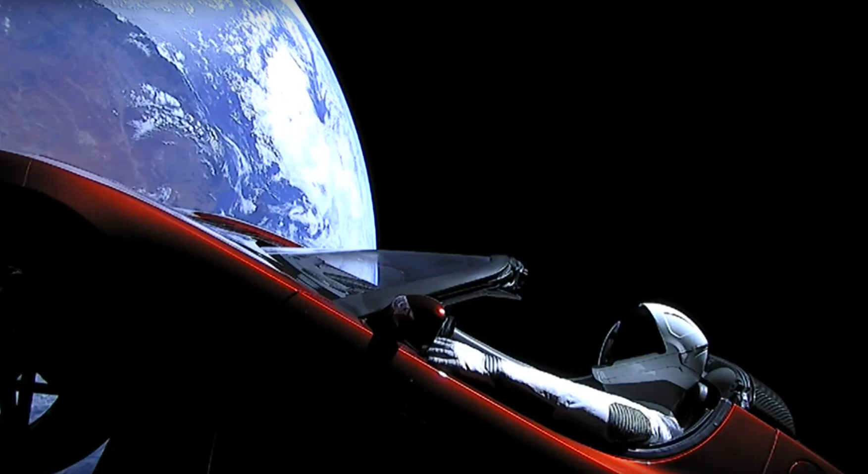 Tesla espacio