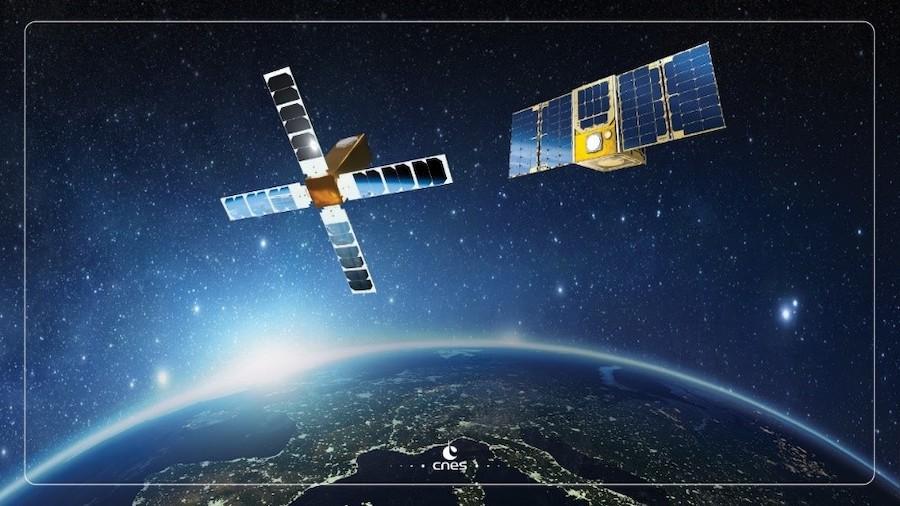 Ilustración Cubesat Angels