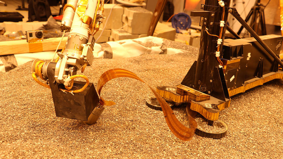 InSight test en laboratorio