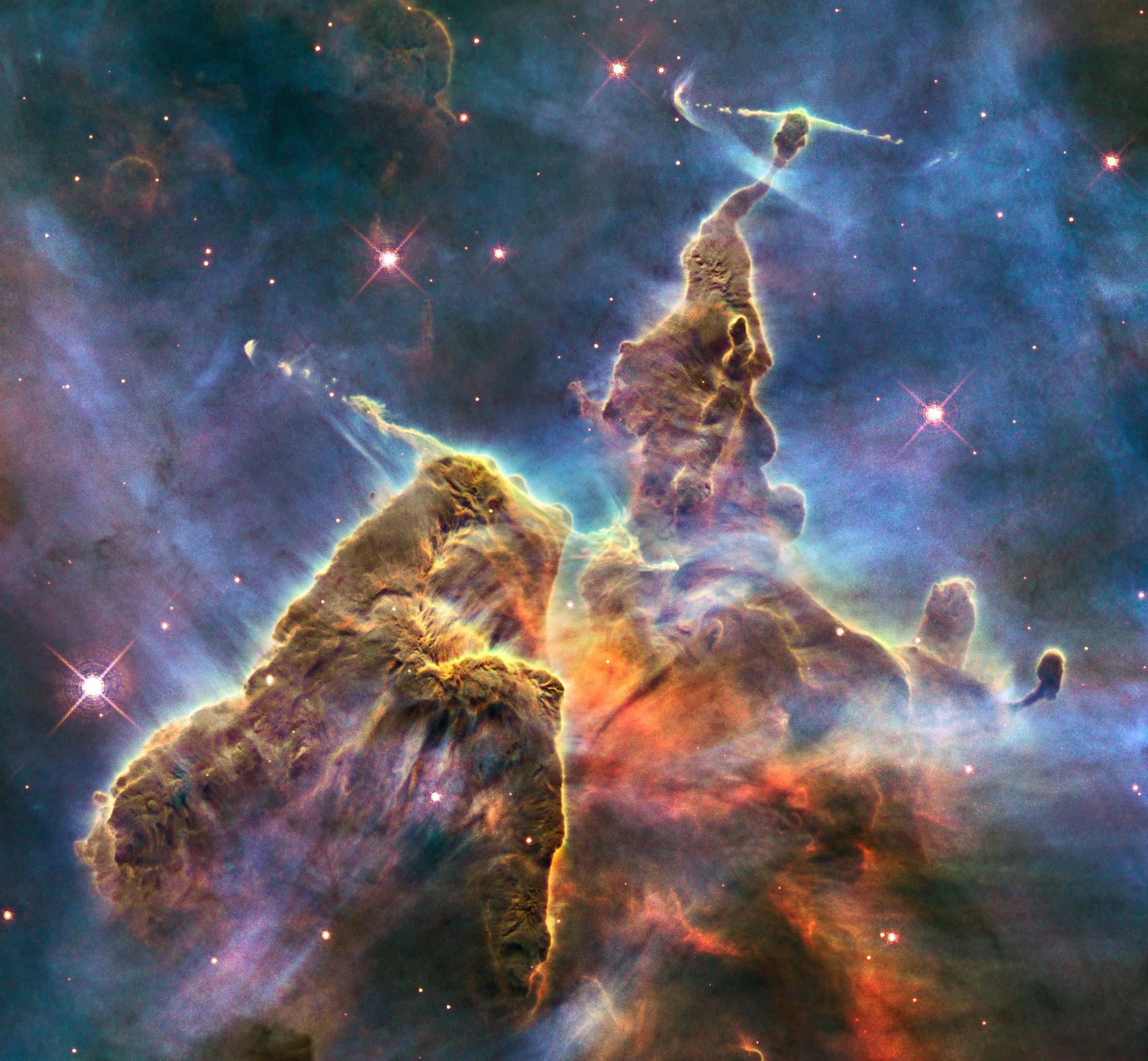 WFC3 nuevas estrellas naciendo