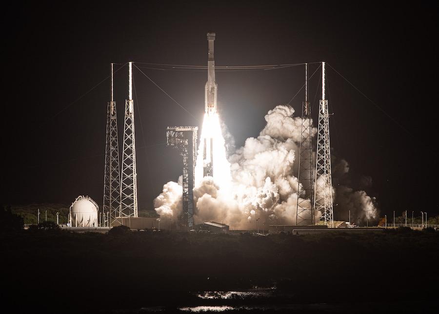 Lanzamiento Atlas V con Starliner