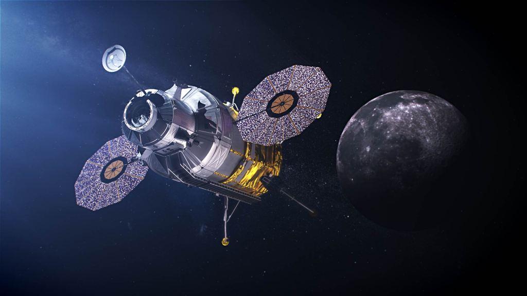 Ilustracion modulo aterrizaje lunar